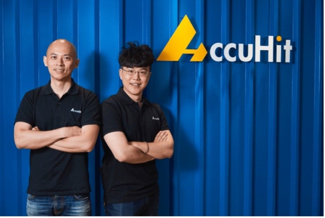 AccuHit CEO Jason Lin and Strategy & BD Director Mike Wu
